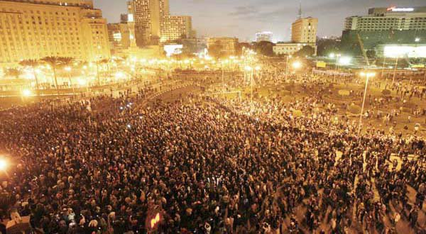 Jan 25th Protests in Tahrir Square